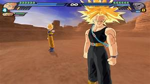 Goku gives a potara to Trunks so they can fuse by ...