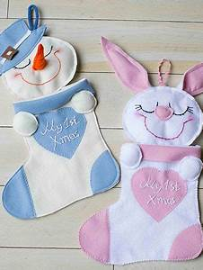 Baby, U0026, 39, S, First, Christmas, Stocking, Ornaments