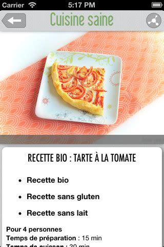 appli cuisine cuisine saine du bon du bio des recettes simples dans