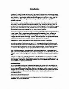 What Is A Synthesis Essay Non Conformity Essays Essay Of Science also How To Write A Essay Proposal Essay On Conformity Literary Comparison Essay Articles On Conformity  Essays In English