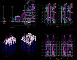 Vertical Furnace DWG Block for AutoCAD • Designs CAD