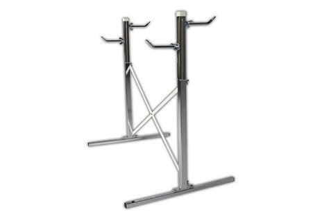 portable ballet bar with two bars