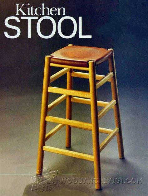 bar stool plans woodarchivist