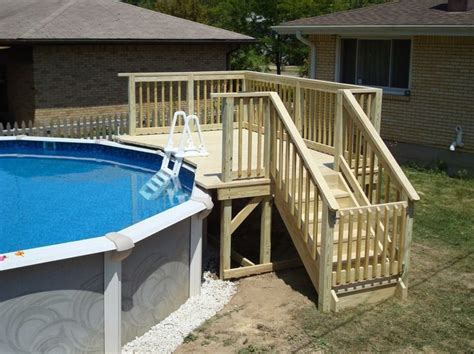 17 best ideas about above ground pool ladders on swimming pool ladders deck with