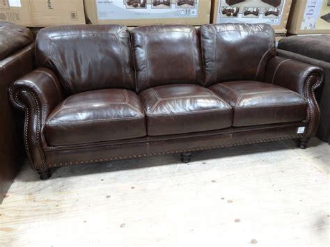 cheers leather sofa costco cheers clayton leather sofa costco review ozgunmehmet com