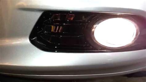2014 ford fusion fog lights 2014 ford fusion titanium sedan testing fog lights after