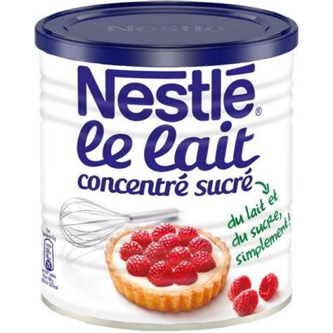 dessert avec lait concentre sucre nestle le club nestl 233 antilles guyane