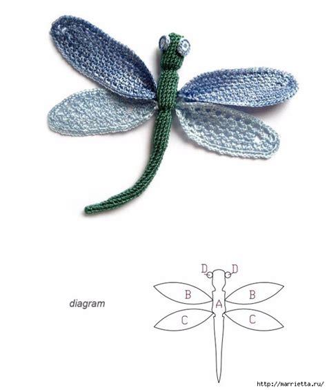 crochet patterns  butterfly  dragonfly crochet kingdom