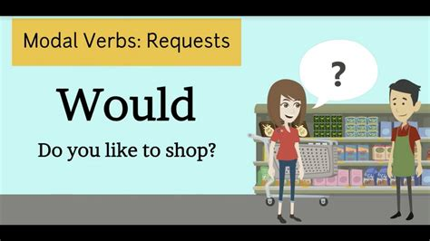 By using modal verbs in the following ways: Modal Verbs: Making Requests 2 - YouTube