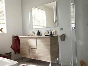Miroir Meuble Salle De Bain : meuble salle de bain avec miroir leroy merlin ~ Dailycaller-alerts.com Idées de Décoration