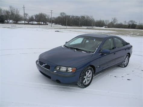 Volvo S60 2 4t by Purchase Used 2001 Volvo S60 2 4t Sedan 4 Door 2 4l Great