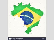 Brazil Flag Artistic Stock Photos & Brazil Flag Artistic