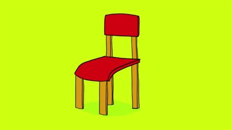 fonction d une chaise apprendre à dessiner une chaise