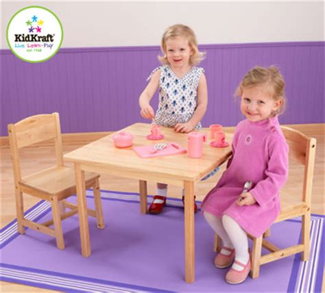 Kidkraft Table And Chair Set Canada by Kidkraft Farmhouse Table 2 Chair Set In Canada Kidkraft