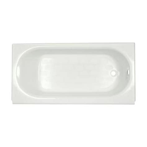 americast bathtub home depot american standard princeton luxury ledge 5 ft americast