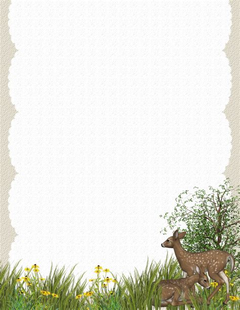 animals  critters   stationerycom template downloads