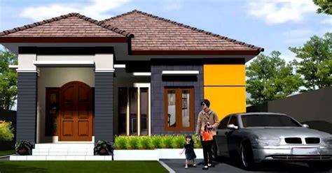 model rumah minimalis terbaru satu lantai design rumah