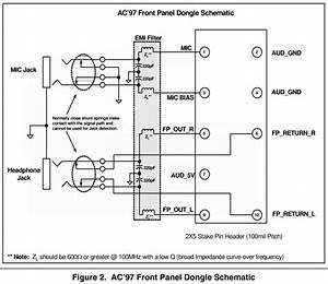 Hd-audio  Ac97 Front Panel