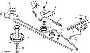 deere l110 mower deck belt diagram car interior design