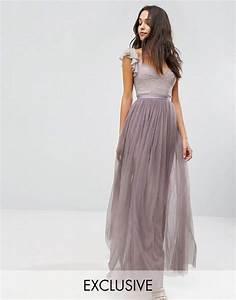 Boho Kleid Hochzeitsgast : needle thread langes t llkleid mit r schenarm wedding ideas pinterest kleider ~ Yasmunasinghe.com Haus und Dekorationen