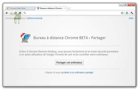 Installer Le Bureau ã Distance Chrome by Bureau 224 Distance Chrome Propose La Prise En Main De Son