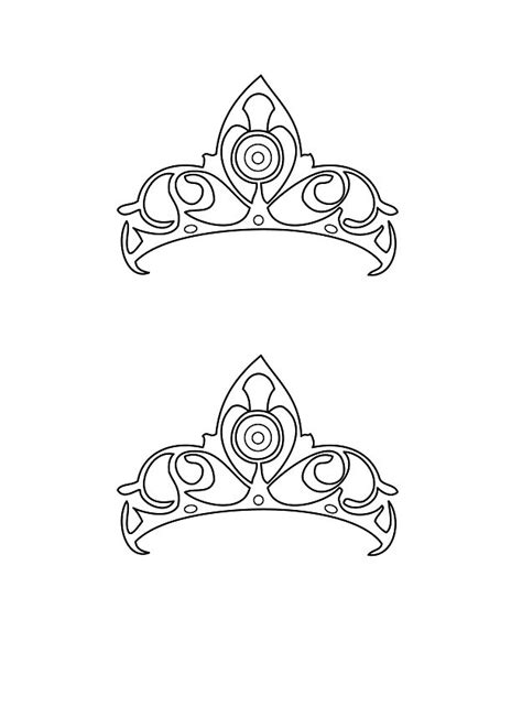 tiara template 45 free paper crown templates template lab