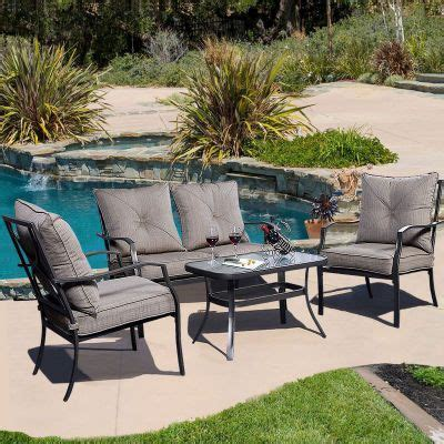 Patio Furniture Nearby by Ghp Outdoor Garden Patio For Summer Gathering