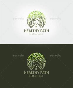 Healthy Path Logo Template By Vraione