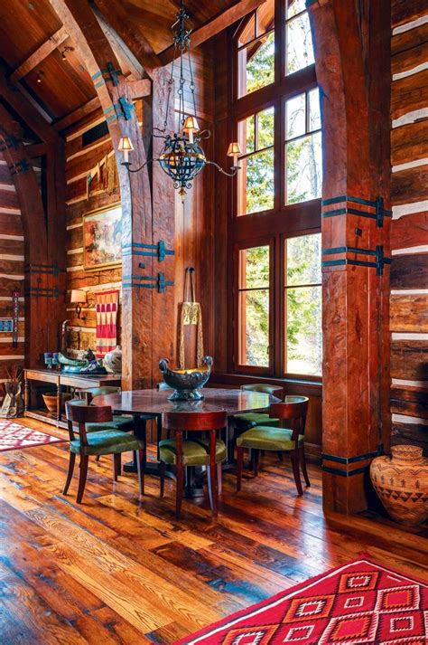 rustic log cabin an authentic rustic home in jackson in 2019 make