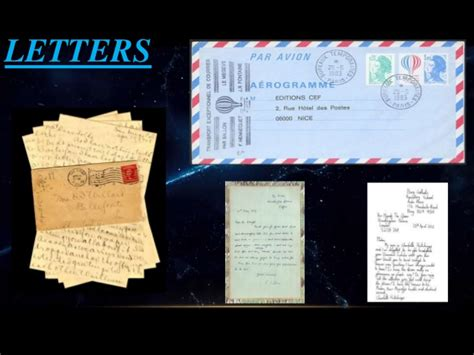 letterss   types letter samples applications