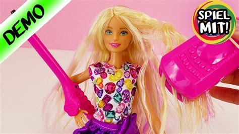 Barbie Haare Stylen Crimp & Curl  Wellen Und Locken