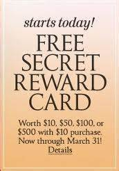 Treasure Hunt for Coupons: Victoria's Secret: The Secret ...