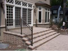 Outdoor Metal Handrails For Stairs by Adding Railing To Your Exteriors Can Give The Outside A Completely Different