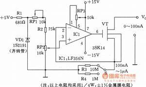 The Precise Na Stage Current Generator - Signal Processing - Circuit Diagram
