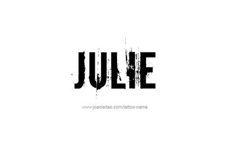 julie  tattoo designs