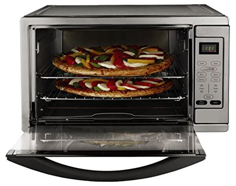 toaster oven racks toaster oven large capacity 2 racks 16 quot pizza