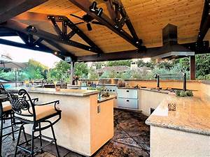 photo page hgtv With outdoor kitchen and bar designs