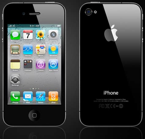 iphone 4 front iphone 4 likely to cost the price in screen protection