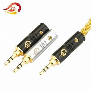 Qyfang 2 5mm 3 Poles Stereo Earphone Plug Audio Jack
