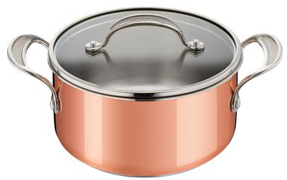 tefal jamie oliver tri ply copper stewpot cm