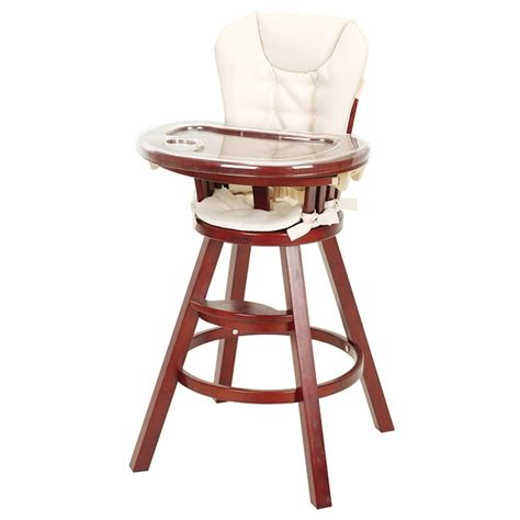 graco classic wood high chair in cherry 12541754