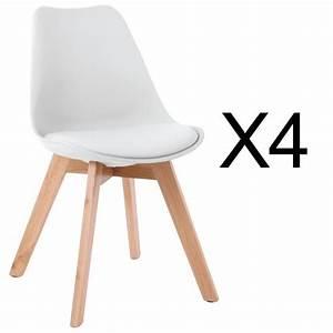 Coussin Style Scandinave : chaise scandinave avec coussin achat vente chaise scandinave avec coussin pas cher cdiscount ~ Teatrodelosmanantiales.com Idées de Décoration