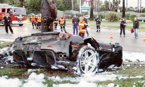 Enzo Crash by Another Enzo Crash Car News Top Speed