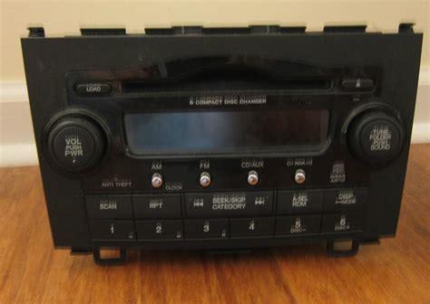 Crv Radio Code by Buy Original 2007 Honda Crv 6 Cd Changer Mp3 Wma Radio