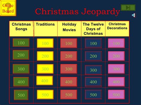 jeopardy christmas