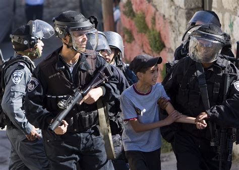 The Arrest And Abuse Of Palestinian Children Has To Stop ...