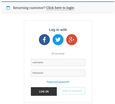 How To Customize Woocommerce Checkout Login & My Account Forms