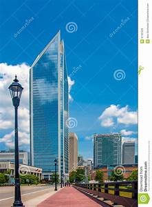 Uptown Charlotte, North Carolina Cityscape Royalty Free ...