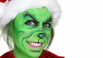 the grinch christmas makeup tutorial youtube