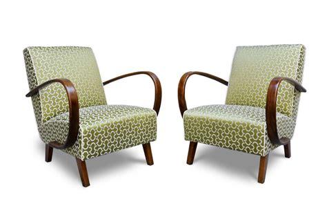 tessuti poltrone e sofa poltrone anni 30 deco in faggio curvato italian